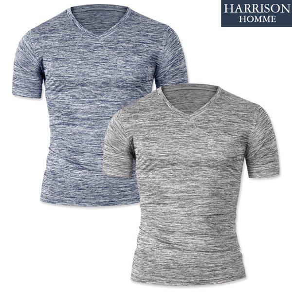 [해리슨] 브이넥 반팔 티셔츠2 DDO1153