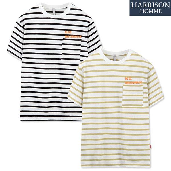 [해리슨] 단가라1 반팔 티셔츠 DBS1214