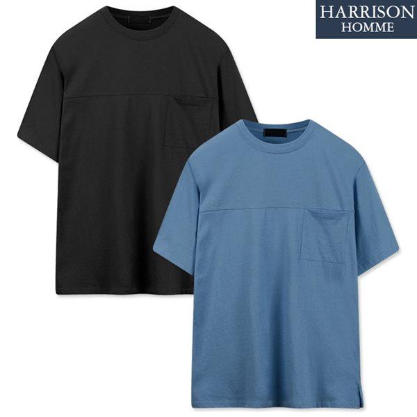 [해리슨] 포켓 반팔 티셔츠 NGD1006