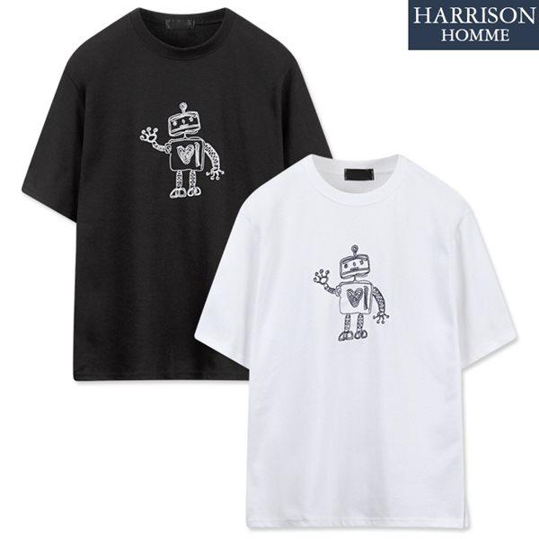 [해리슨] 로보트 반팔 티셔츠 NGD1003