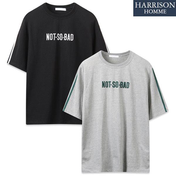 [해리슨] 낫 소 베드 라운드 반팔 티셔츠 MJB1259