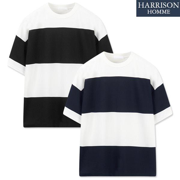 [해리슨] 엠보 왕단가라 반팔 티셔츠 RKM1128