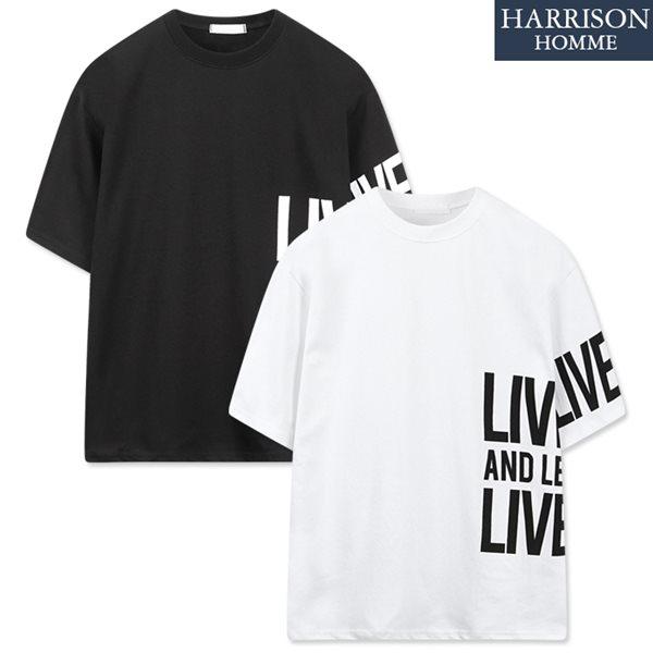 [해리슨] 라이브 나염 반팔 티셔츠 RKM1127