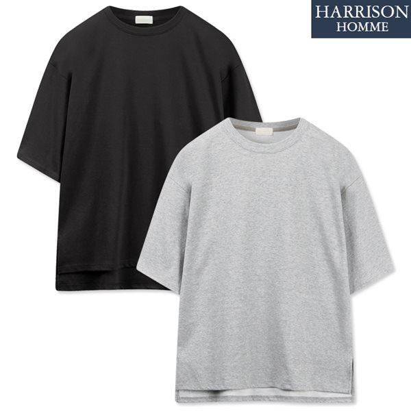 [해리슨] 특양면 빅오버핏 반팔 티셔츠 MDL1369