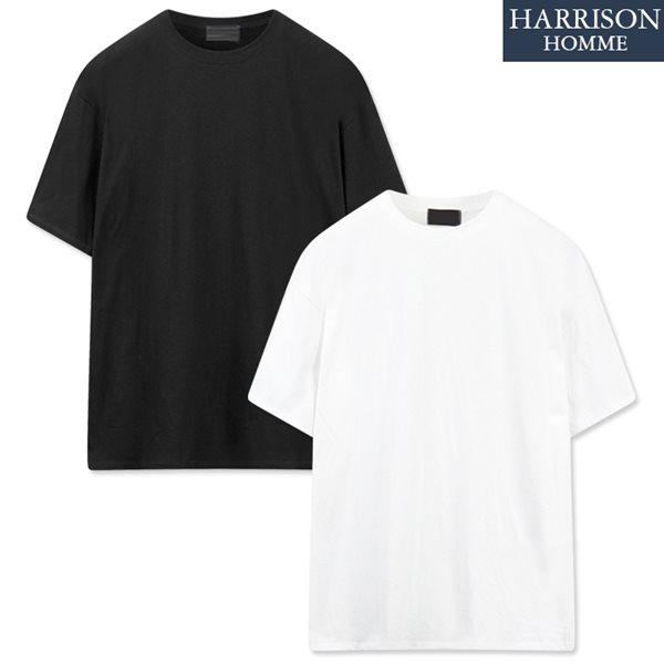 [해리슨] 코튼 가에루빠 박스 반팔 티셔츠 LCS1063