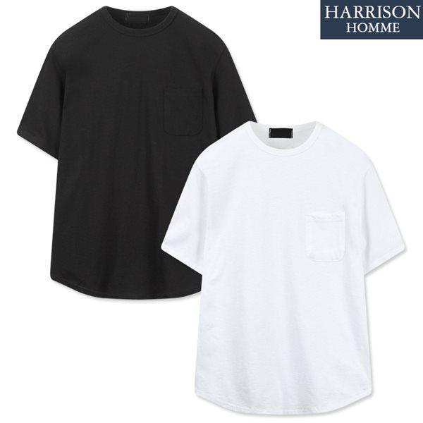 [해리슨] 슬라브 포켓 반팔 티셔츠 NGD1009