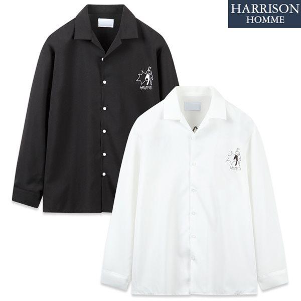 [해리슨] DS 그래피티 긴팔 셔츠 MET1887