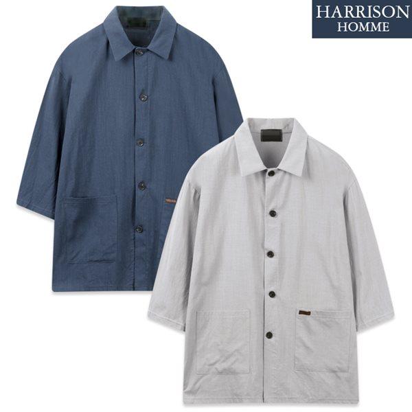 [해리슨] D2 마린 자켓 반팔 셔츠 MET1914