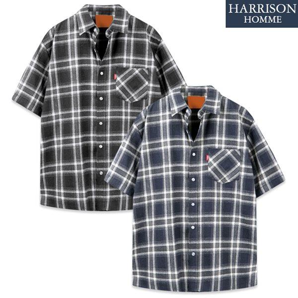 [해리슨] DS 북유럽 반팔 셔츠 MET1906