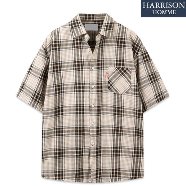 [해리슨] 너구리 반팔 셔츠 DON1374
