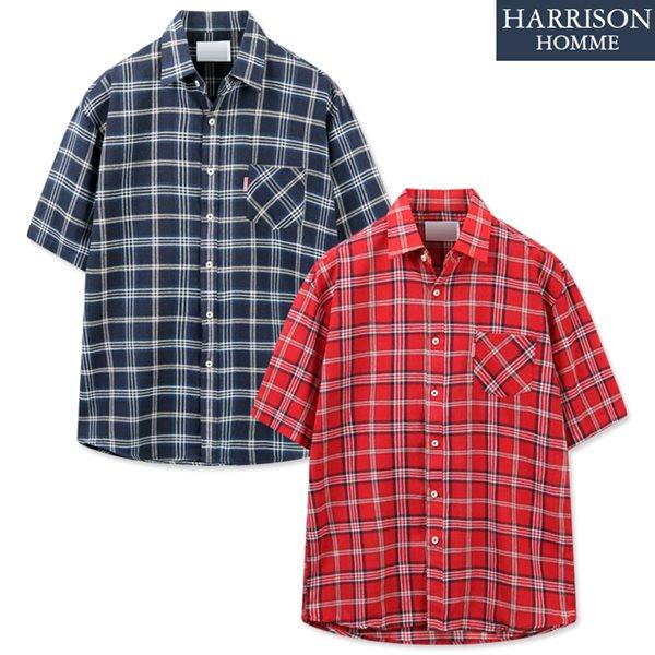 [해리슨] 셔틀 반팔 셔츠 DON1375