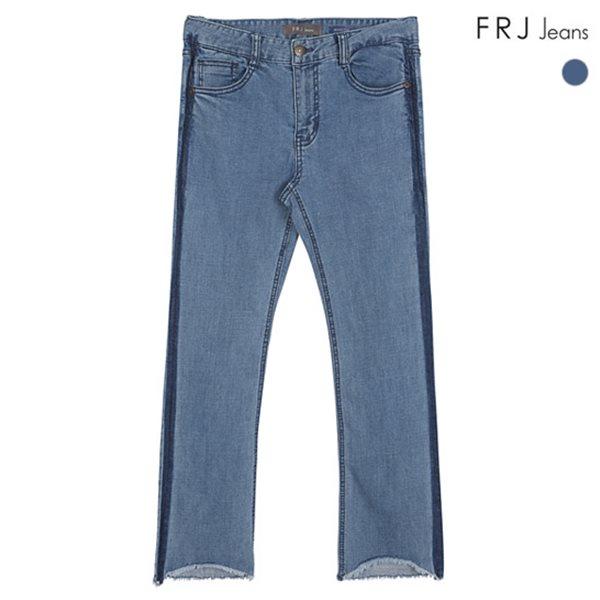 [FRJ]여성 M톤워싱와끼디테일부츠컷 (F82F-DP451A)