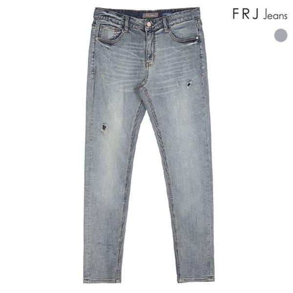 [FRJ]남성 카페M톤워싱테이퍼드덧댐누빔구제 (F82M-DP608A)