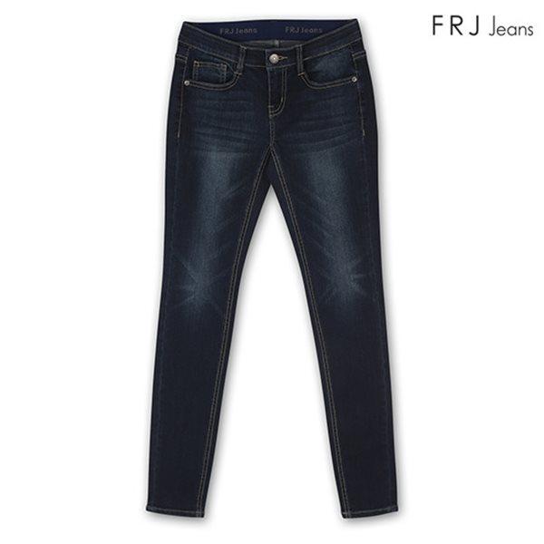 [FRJ]여성 오비밴딩D톤워싱슬림스키니 DBL (F81F-DP372A)