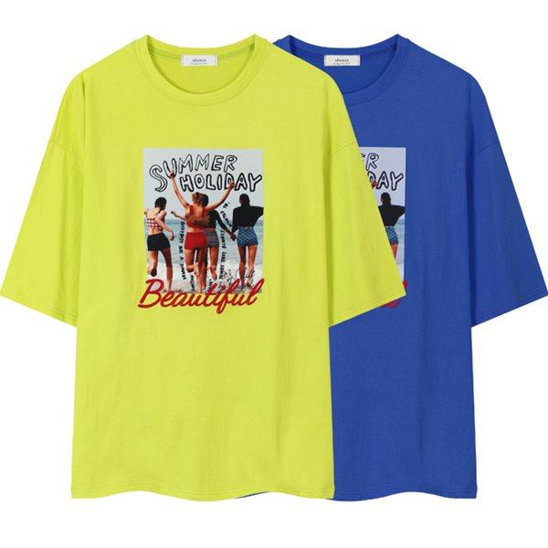 [레이먼] 썸머 전사 반팔 티셔츠 RH2114SG