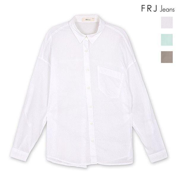 [FRJ]여성 기본롤업셔츠 (F52F-SH853B)