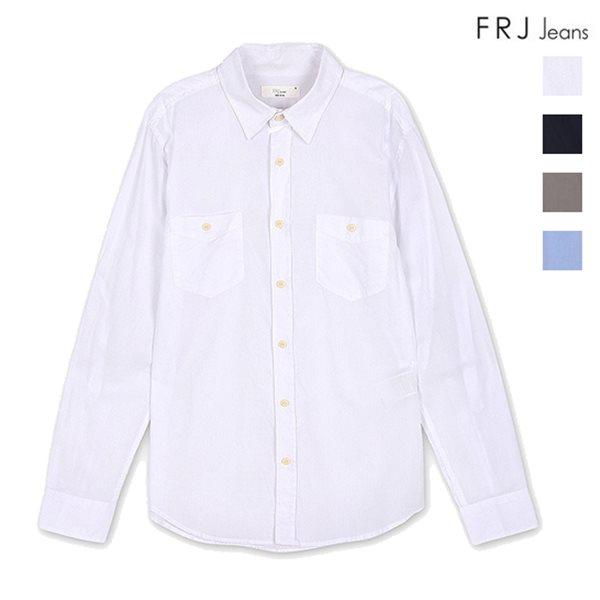 [FRJ]남성 양가슴포켓롤업셔츠 (F52M-SH012B)