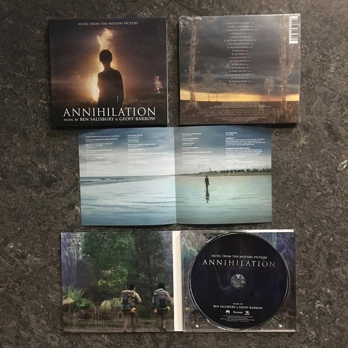 서던 리치: 소멸의 땅 영화음악 (Annihilation OST by Ben Salisbury & Geoff Barrow)