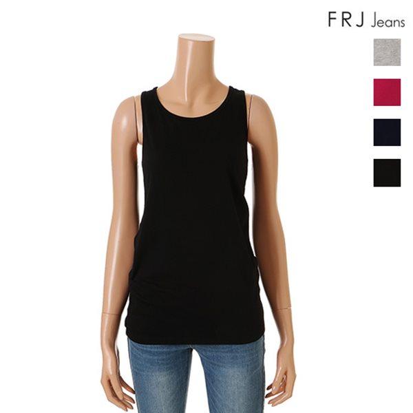 [FRJ]여성 기본스타일민소매티셔츠 (F52F-TM813A)