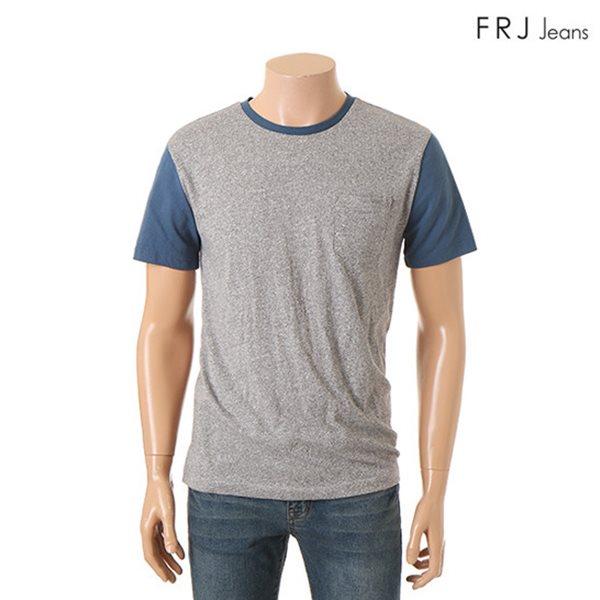 [FRJ]남성 배색포인트싸이로티셔츠 CGR (F52M-TM463B)