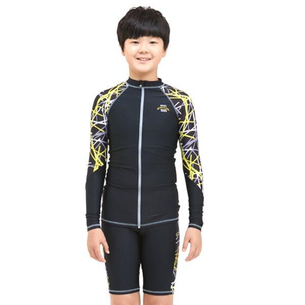 KY-K802 쿠기 남주니어 수영복세트 래쉬가드세트 주니어수영복 아동수영복 쥬니어수영복 남아수영복