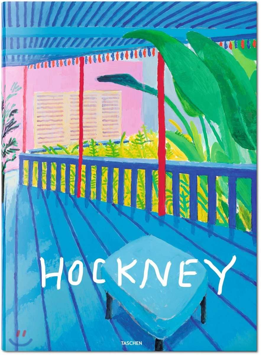David Hockney : A Bigger Book : Collector's Edition : 데이비드 호크니 컬렉터즈 에디션 (타셴 리미티드 에디션 / 한정판)