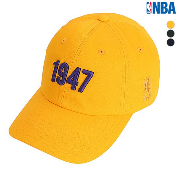[NBA]LAL LAKERS 넘버링자수 SOFT CURVED CAP(N185AP221P)