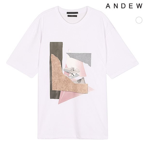[ANDEW]남성 전판아트웍 TC반팔TS(O182TS210P)