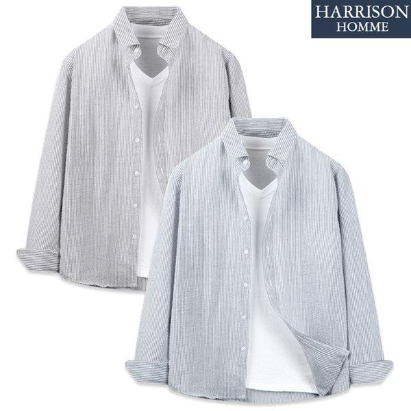 [해리슨] 742 긴팔 셔츠 RVR1058
