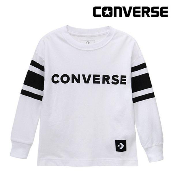 [컨버스키즈] 풋볼 티셔츠(긴팔)L ENF11QTS86 (키즈)