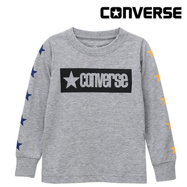 [컨버스키즈] 빈티지 스타 티셔츠(긴팔)L ENF11QTS98 (키즈)