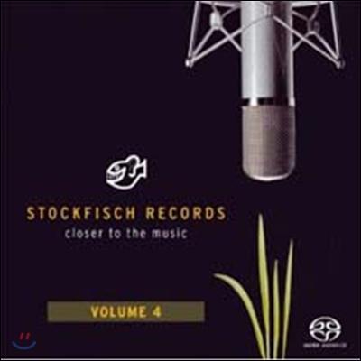스톡피쉬 오디오 샘플러 4집 (Stockfisch Records Closer to the Music Vol.4) [SACD Hybrid]