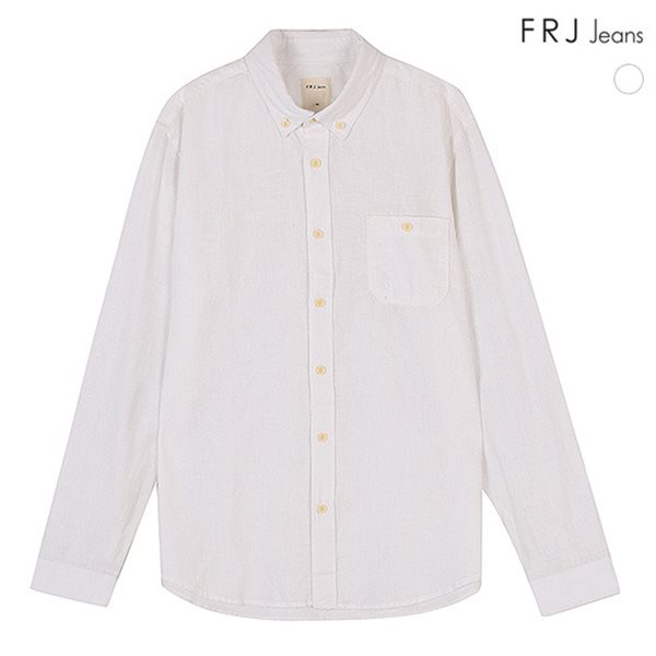 [FRJ]남성 면 린넨기본셔츠 (F51M-SH81ZB)