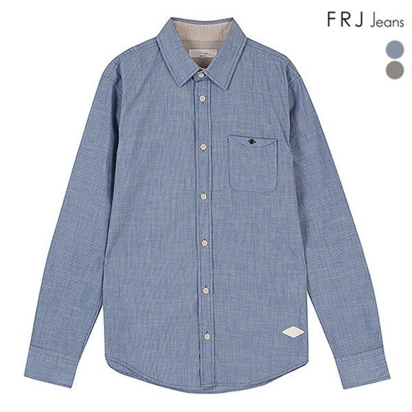 [FRJ]남성 면슬럽가슴변형포켓셔츠 (F51M-SH04ZB)