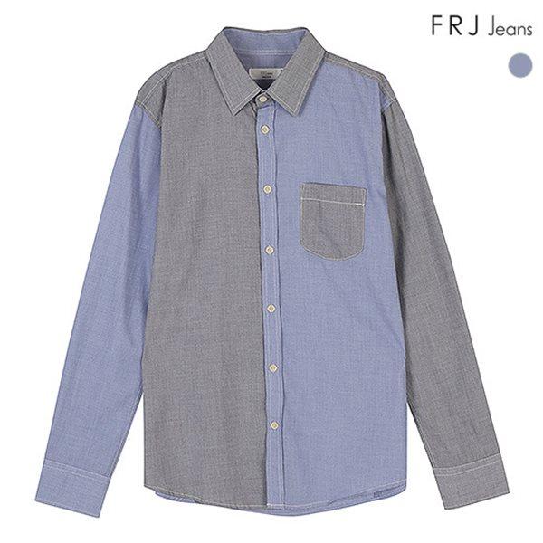 [FRJ]남성 블럭배색셔츠 (F51M-SH071A)