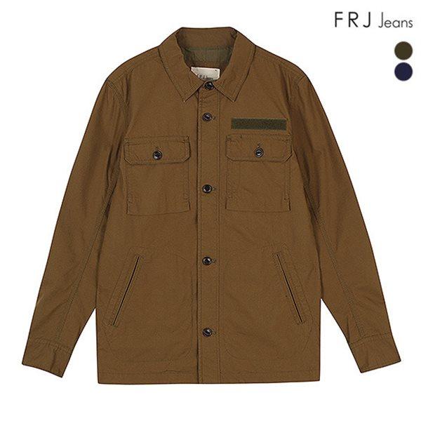 [FRJ]남성 와펜장식후다포켓코튼사파리 (F51M-MM031B)