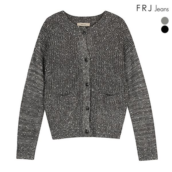 [FRJ]여성 라운드넥숏여성가디건 (F51F-KP51ZB)