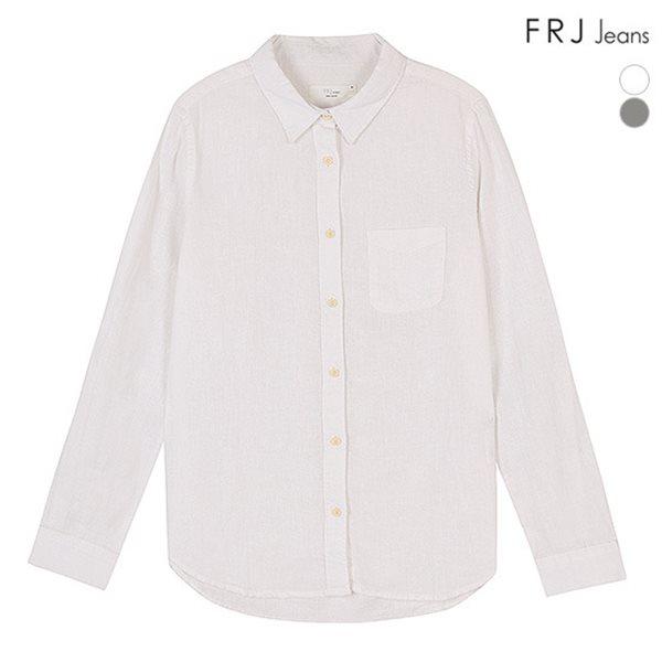 [FRJ]여성 면 린넨기본셔츠 (F51F-SH85ZB)