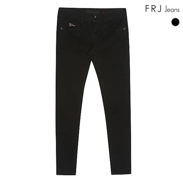 [FRJ]여성 블랙RAW앵클스키니주자 (F51F-DP381A)