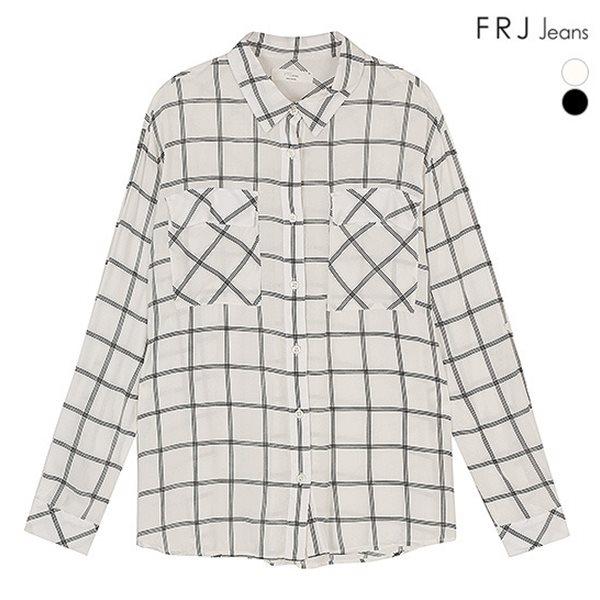 [FRJ]여성 체크무늬레이로셔츠 (F51F-SH531A)