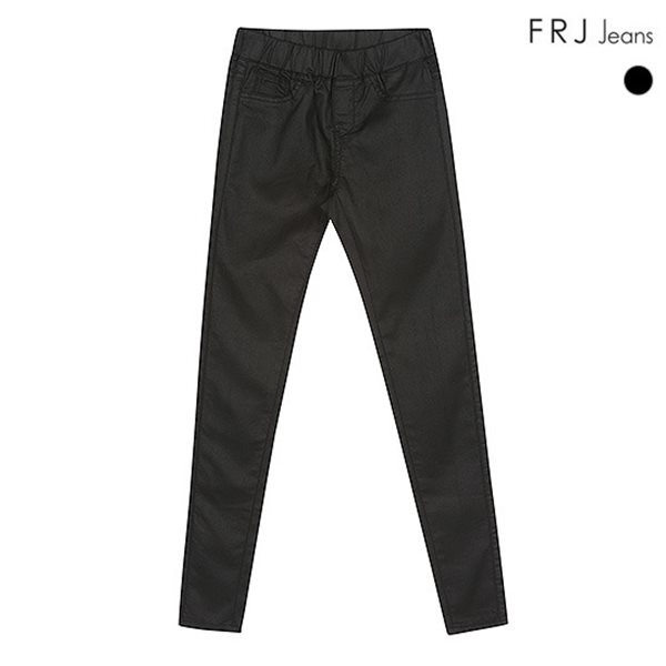[FRJ]여성 코팅블랙오비밴드형제깅스 (F51F-DP555A)