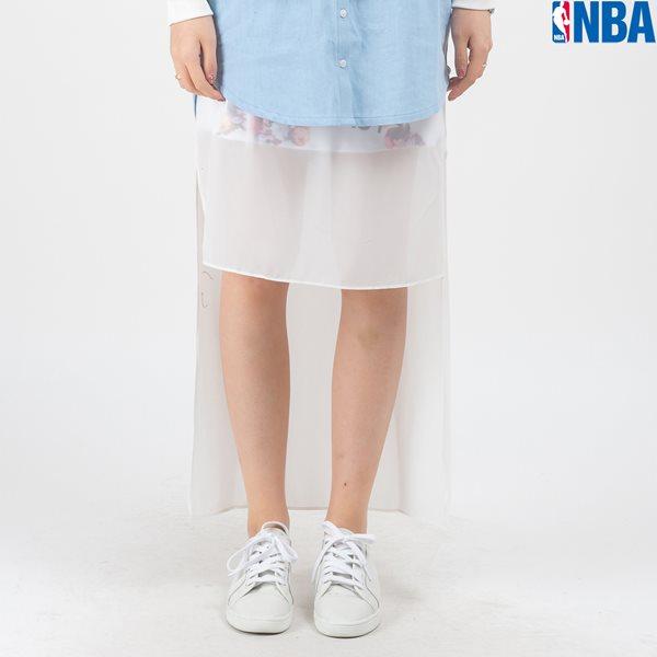 [NBA]NBA 쉬폰믹스 트레이닝 패턴 SKIRT LEGGINGS(N161TK753P)