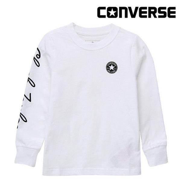 [컨버스키즈] 척테일러 티셔츠(긴팔)L ENF11QTS45 (키즈)