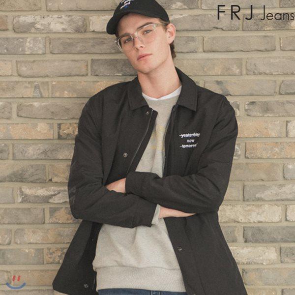 [FRJ]남성 솔리드트러커자켓 BK (F81M-MM02ZB)