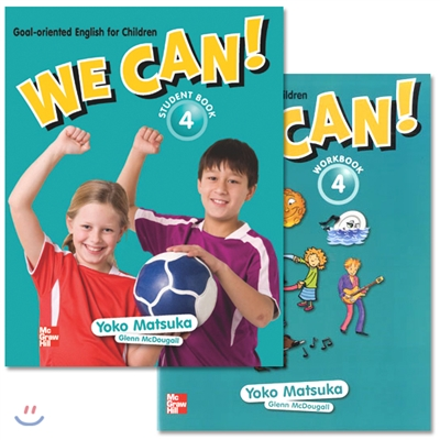 We Can! 4 : Student Book + Work Book