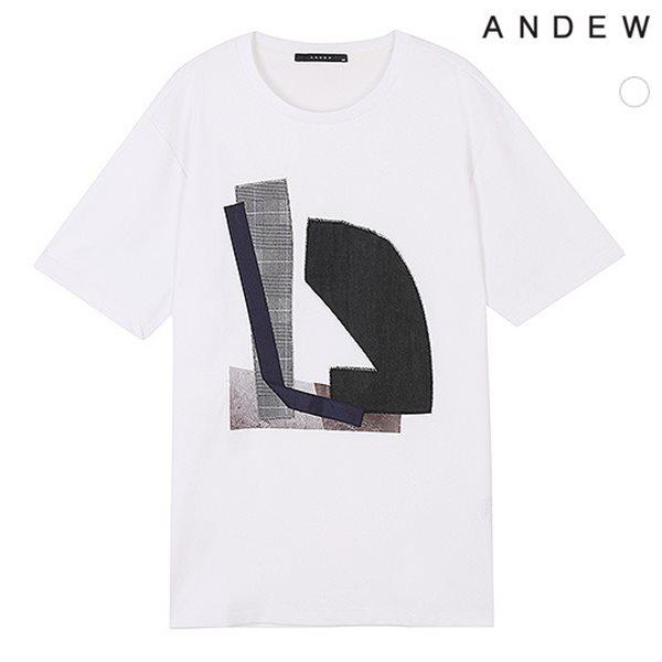 [ANDEW]남성 TC전판아트웍반팔TS(O183TS160P)