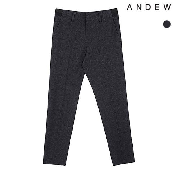 [ANDEW]남성 테이퍼드 분또 패턴물 사이드밴딩 바지(O183PT110P)