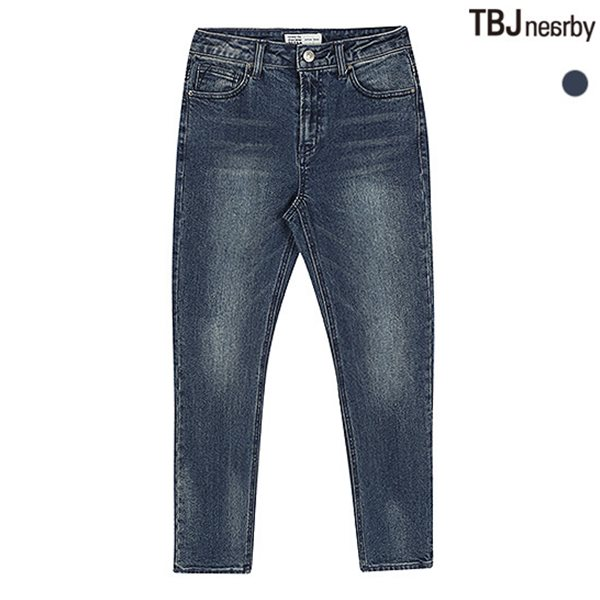 [TBJ]여성 슬림스트레이트 D톤 레트로 데님(T185DP723P)
