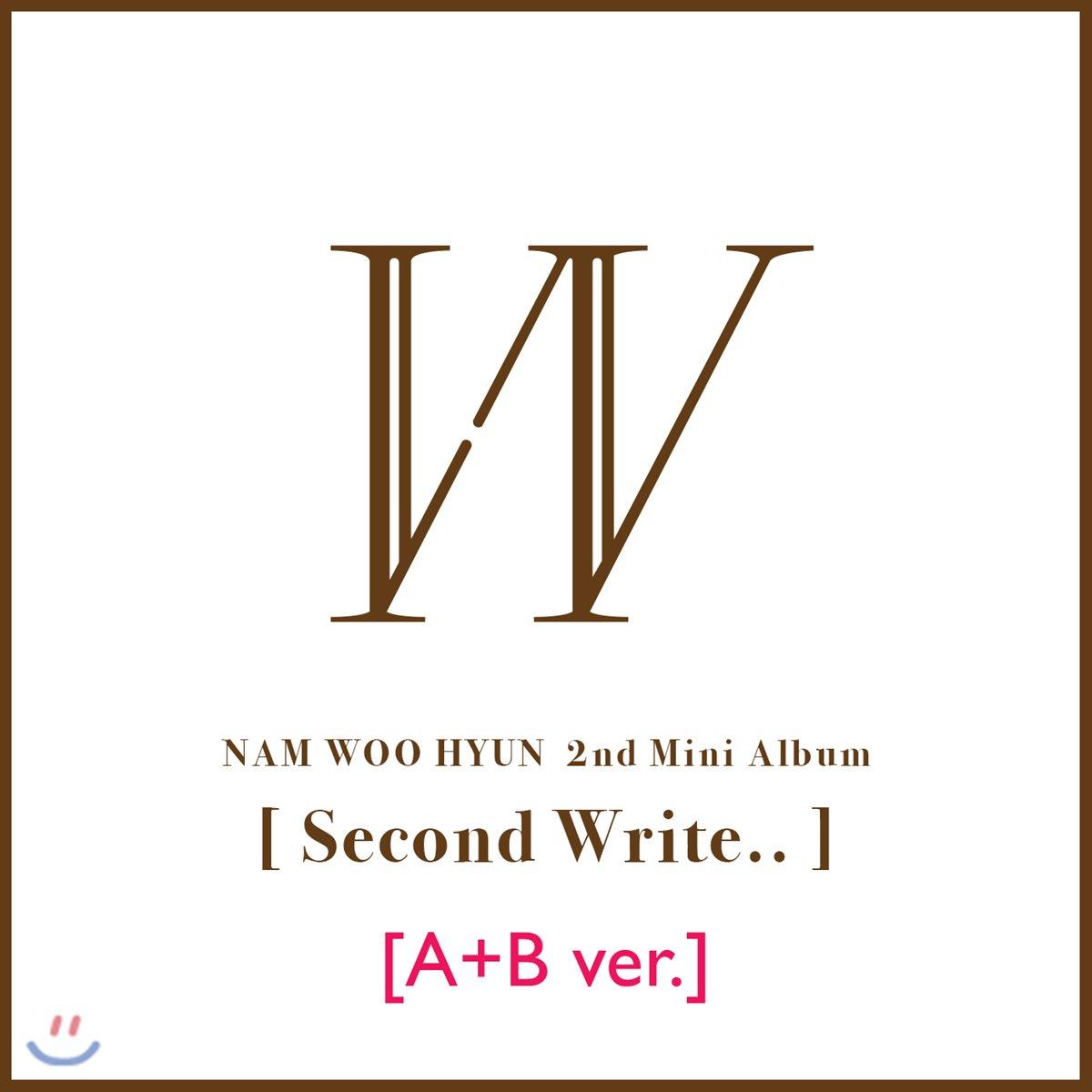 남우현 - 미니앨범 2집 : Second Write.. [A + B /SET]