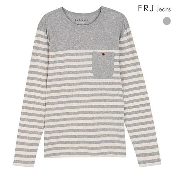 [FRJ]남성 선염ST절개배색포켓티셔츠(F51M-TS061A)